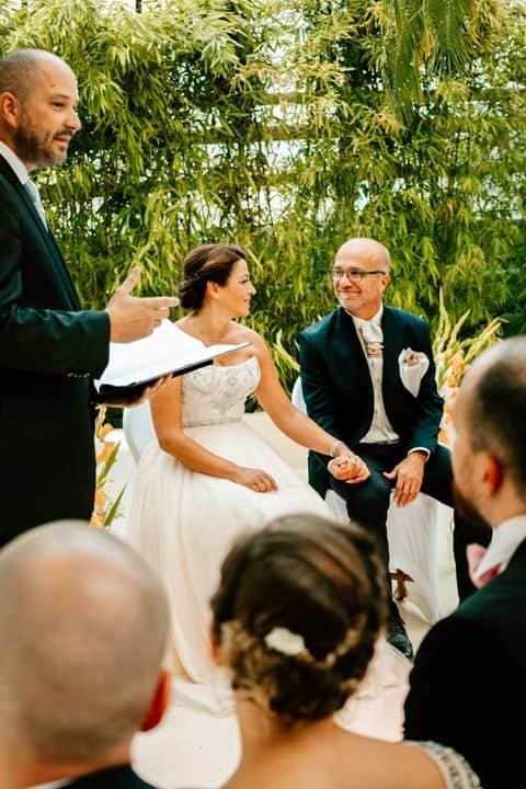 Hochzeitsredner in Action